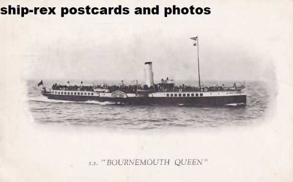 BOURNEMOUTH QUEEN (Red Funnel)~c